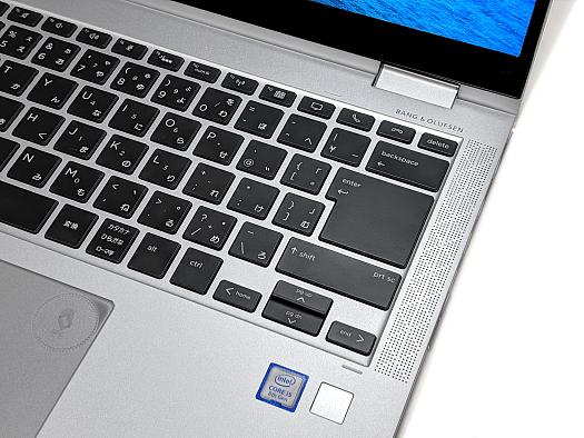 HP EliteBook x360 1040 G5_キーボード_IMG_20190706_064312