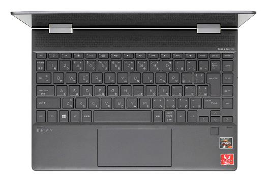 HP ENVY x360 13-ar0000_キーボード_0G1A0930_01a