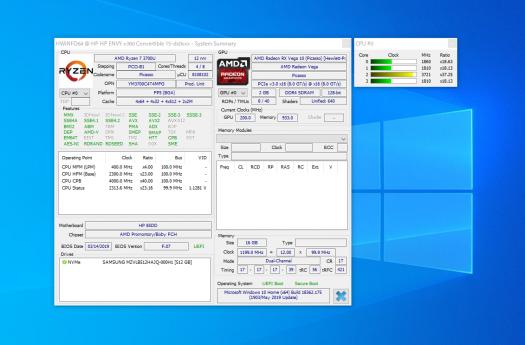 スクリーンショット_AMD Radeon RX Vega 10 グラフィックス_HWiNFO
