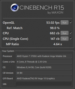 CINEBENCH R15_CPU_Ryzen 7 3700U_02t