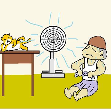 暑い 堪らなく