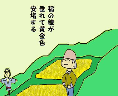 川柳:令和元年9月 雑詠 稲の穂 はつお pe
