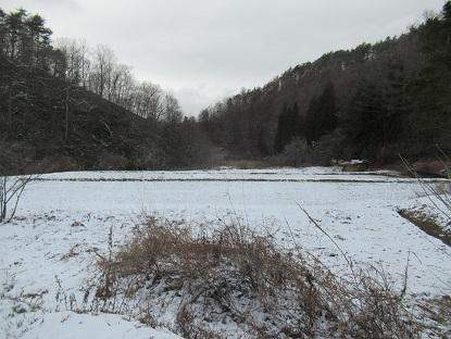 冬景色になった1