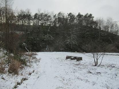 冬景色になった2
