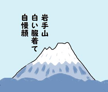 川柳 12月雑詠 岩手山 はつお ペ