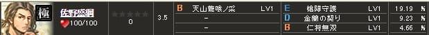 極 佐野S