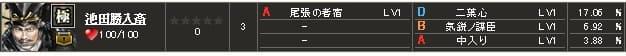 極 池田S