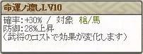 特 穴山Lv10