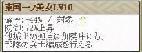 極 駒姫Lv10