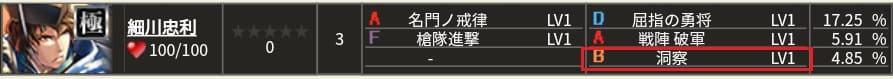 極 細川S1