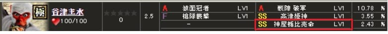 極 谷津S1