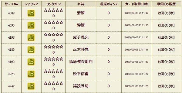 戦くじ7 メイン影206