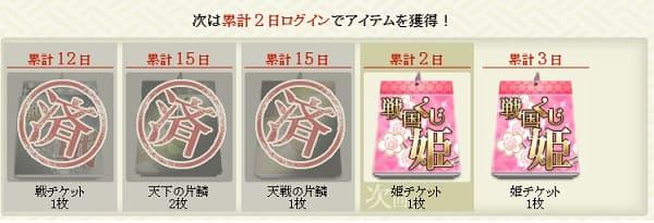 姫くじラインナップ1