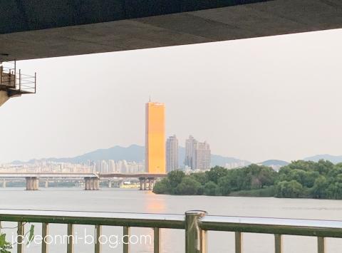 漢江_夕方_2019年8月_2