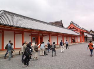 京都御所・建春門