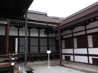京都御所・滝口