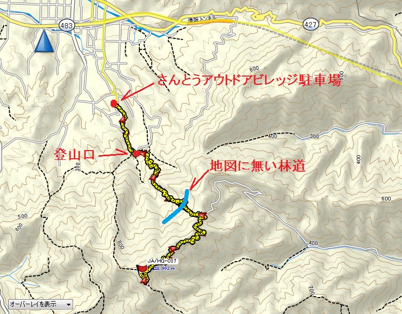 2019粟鹿山/地図