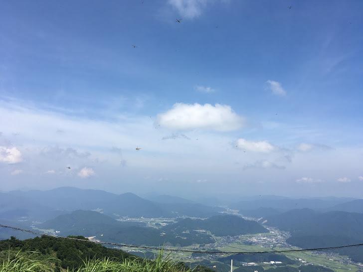 2019粟鹿山/山頂からの景色