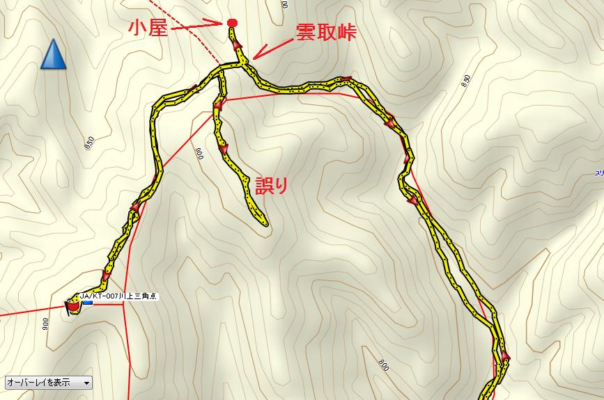 2019雲取山/地図2