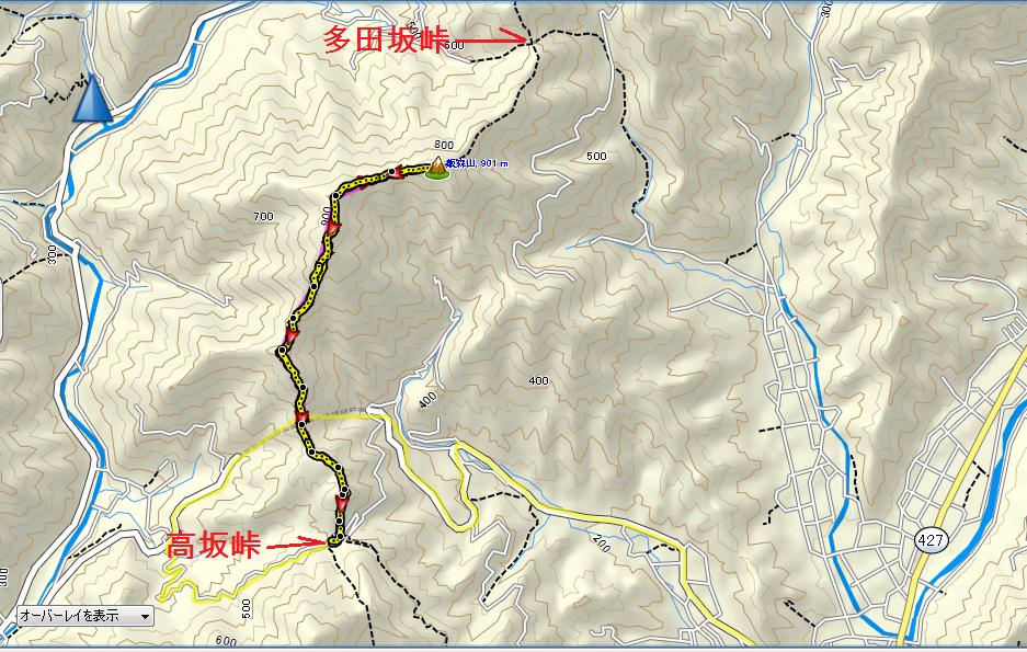 2019飯森山/地図