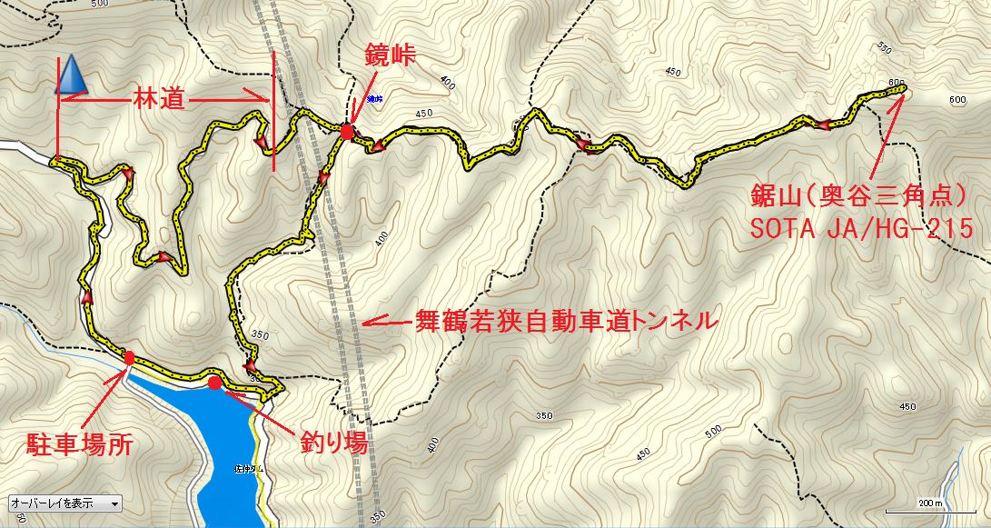 2019鋸山/地図