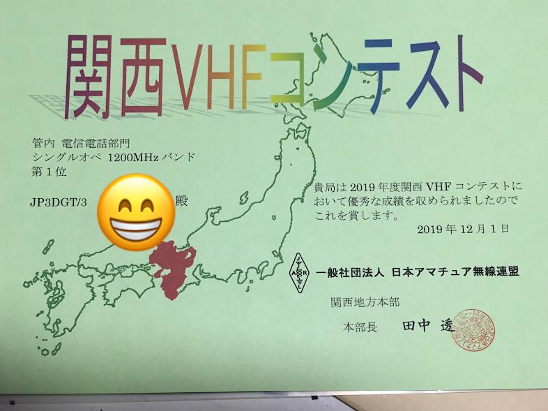2019大和葛城山/表彰状