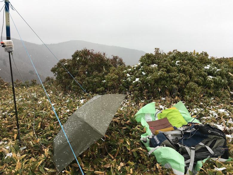 2019段ヶ峰/降雪
