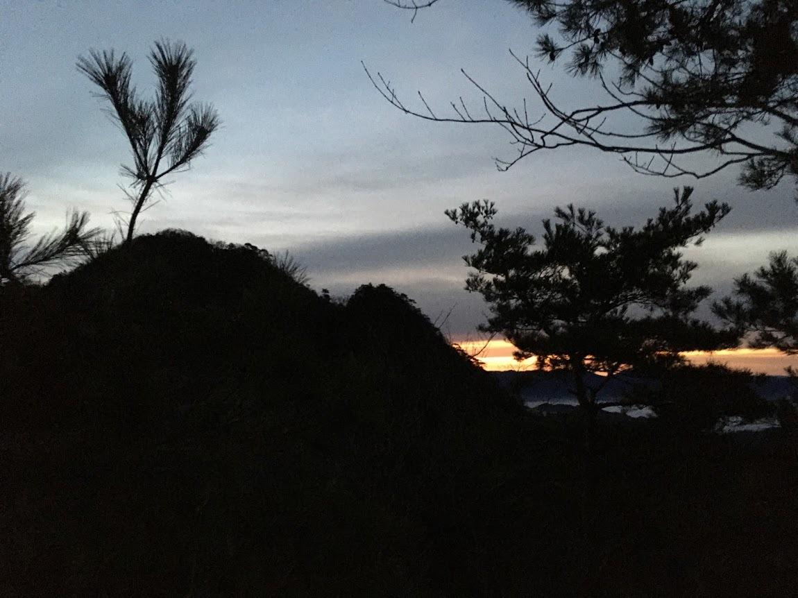 2010小金ヶ嶽/夜明け