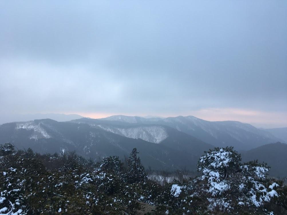 2020千町段ヶ峰/尾根からの景色