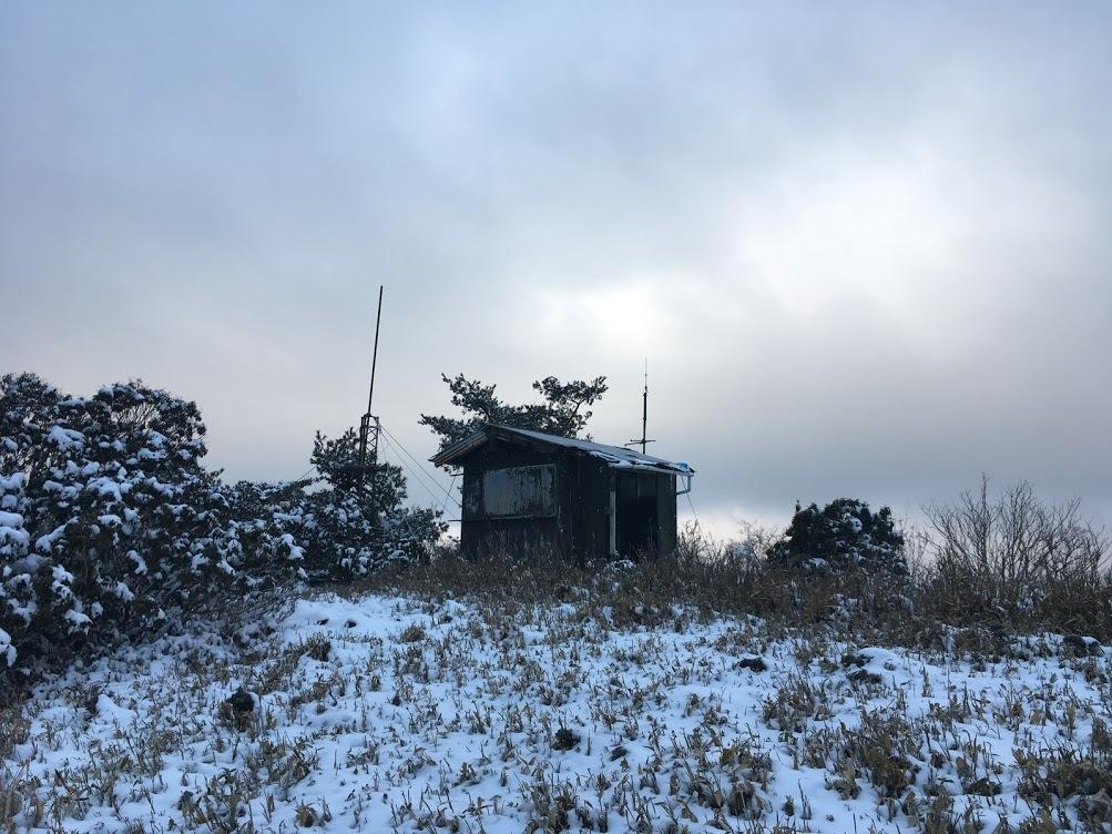 2020千町段ヶ峰/無線小屋
