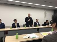 武見敬三参議院議員23区選対会議