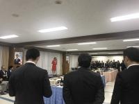 丸川珠代さんを囲む区議会議員の会