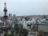 札幌市役所の窓