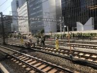 線路付け替え工事