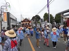 1-11 吹上神社 下町囃子会 -
