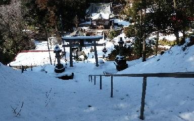 2-1木曾三社神社 平成26年(2014〉2月10日