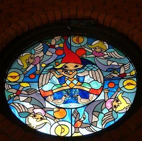 2-2 藤城清治 教会ステンドグラス