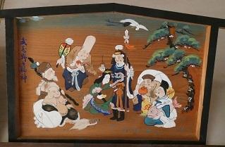 11-5武蔵野七福神額絵
