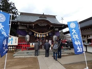 20-3大野神社 拝殿