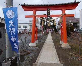 20-8大野神社 鳥居