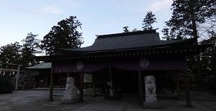 2-1唐沢山神社拝殿