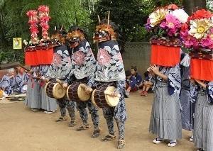 10-8原馬室獅子舞・棒術その1
