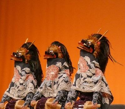 27-4原馬室 三頭獅子舞.