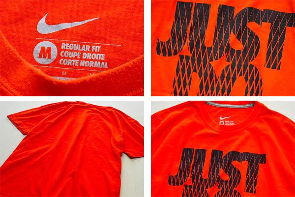 ナイキNIKEプリントTシャツ画像メンズレディースコーデUSEDスポーツMixスタイル@古着屋カチカチ