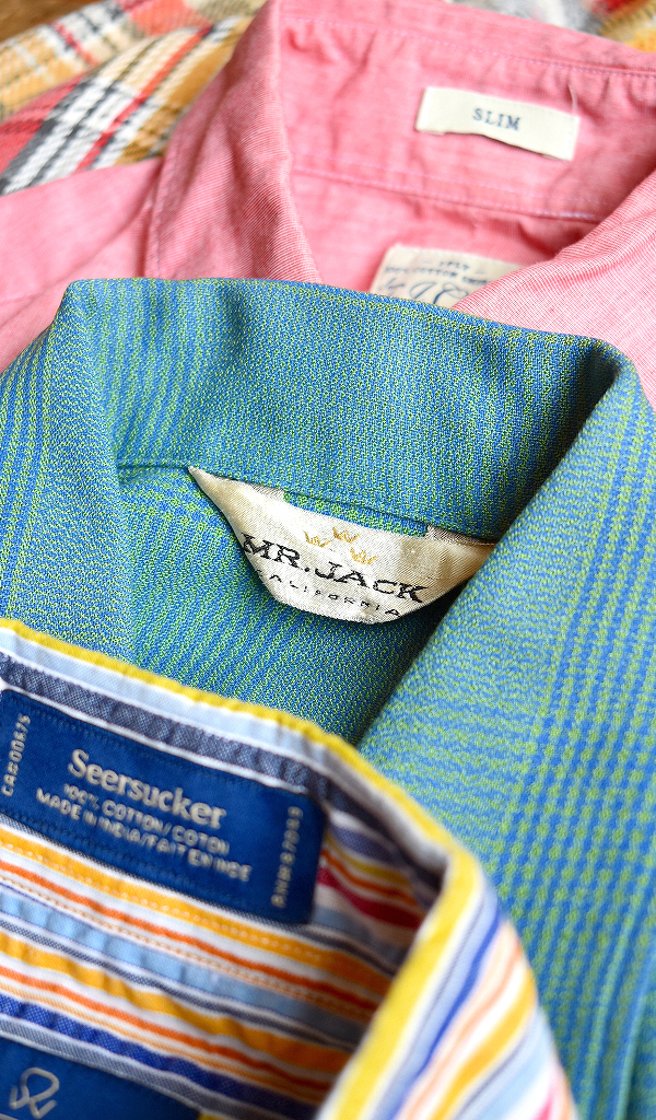 おしゃれな半袖シャツ画像USAブランド中心メンズレディースコーデ@古着屋カチカチ