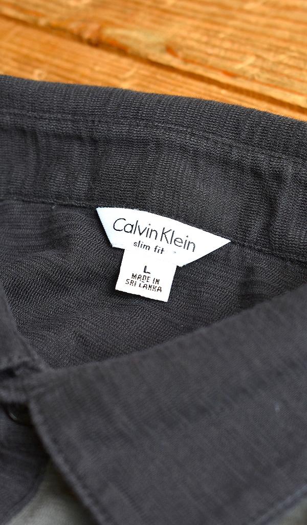 カルバンクラインCalvin KleinシーケーCK半袖ポロシャツコーデ画像メンズレディースOK@古着屋カチカチ