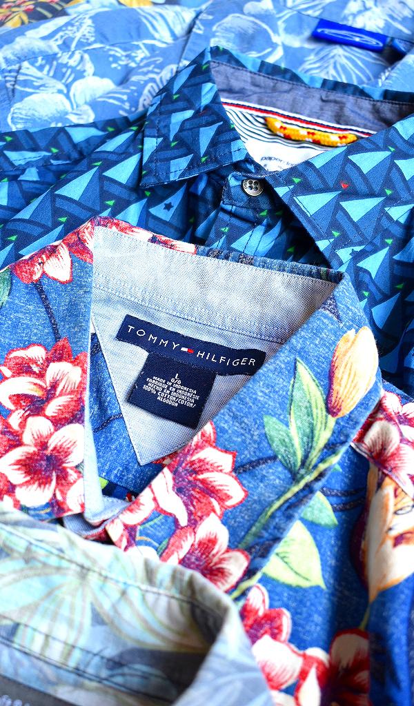 アロハシャツAloha Shirtsハワイアンシャツ画像メンズレディーススタイルコーデ@古着屋カチカチ