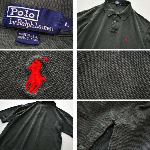 ラルフローレンPOLO半袖ポロシャツPONYポニーロゴUSEDメンズレディースコーデ@古着屋カチカチ