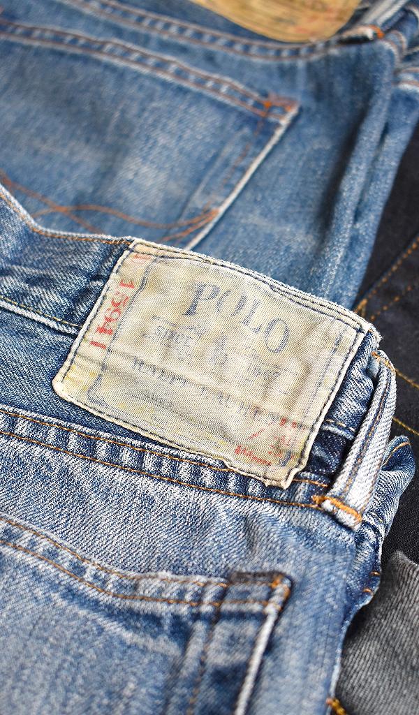 POLO by Ralph LaureポロラルフローレンRLジーンズ画像デニムパンツコーデ@古着屋カチカチ