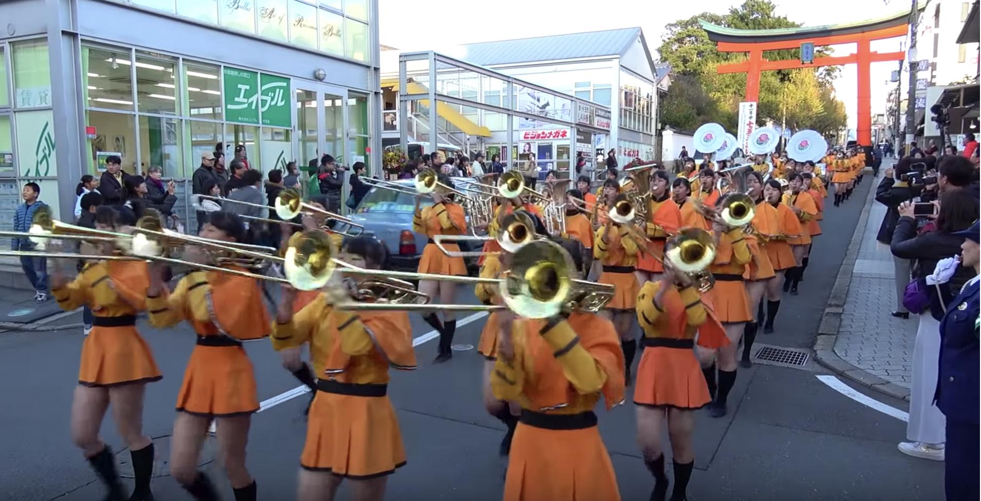 部 吹奏楽 ローズ 京都 パレード 橘 高校